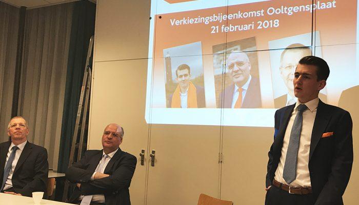 Verkiezingsbijeenkomst SGP – Betrokken tot ín de kern