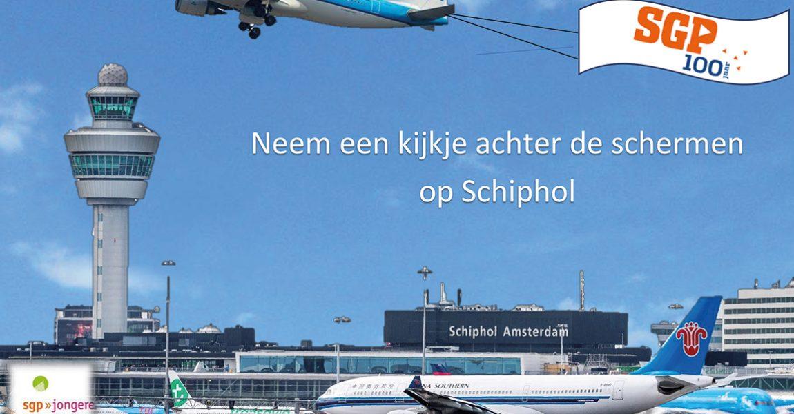 SGP-jongeren op excursie naar Schiphol | Doe mee!