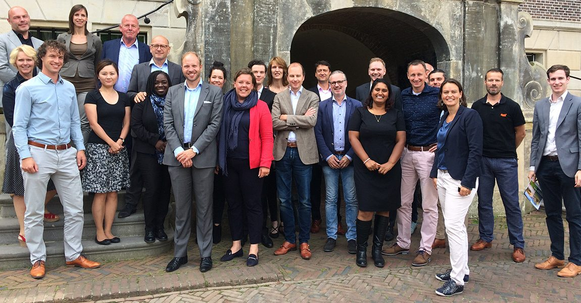 Rotterdam Partners bezoekt Goeree-Overflakkee