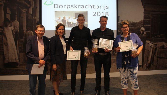 Dorpsraad Den Bommel wint eerste Dorpskrachtprijs 2018 voor Bommel Beach