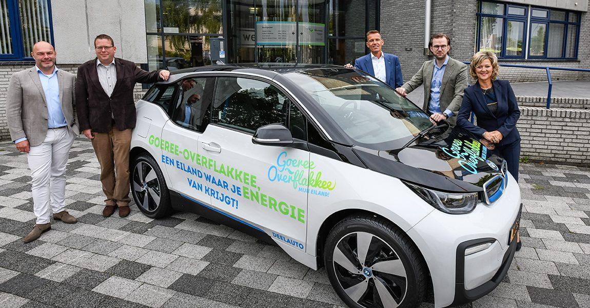 Gemeente Goeree-Overflakkee krijgt interne elektrische deelauto