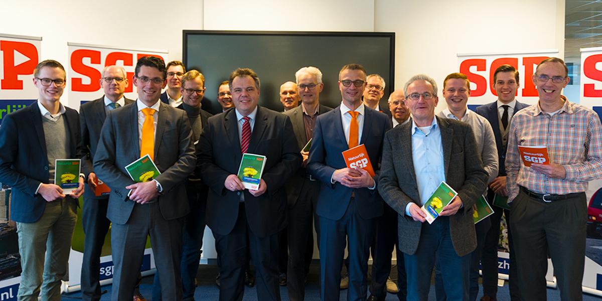 Sein op groen voor campagne SGP Zuid-Holland