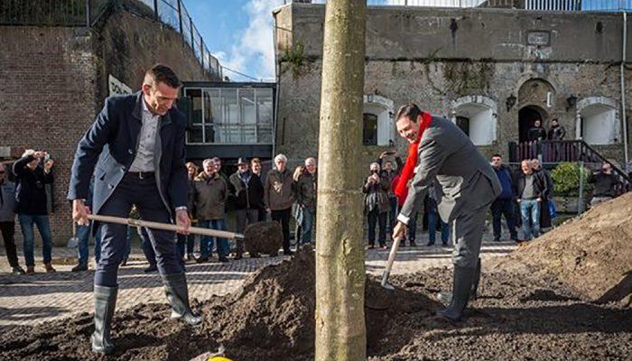 Officiële start restauratie Fort Prins Frederik in Ooltgensplaat