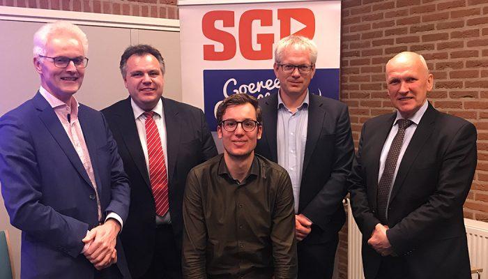 SGP-Waterschapfractie presenteerde zich in Ouddorp