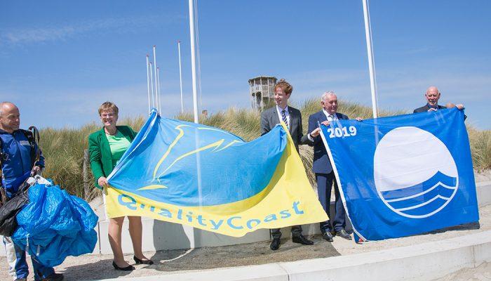 Goeree-Overflakkee ontvangt Platina QualityCoast Award en acht Blauwe Vlaggen