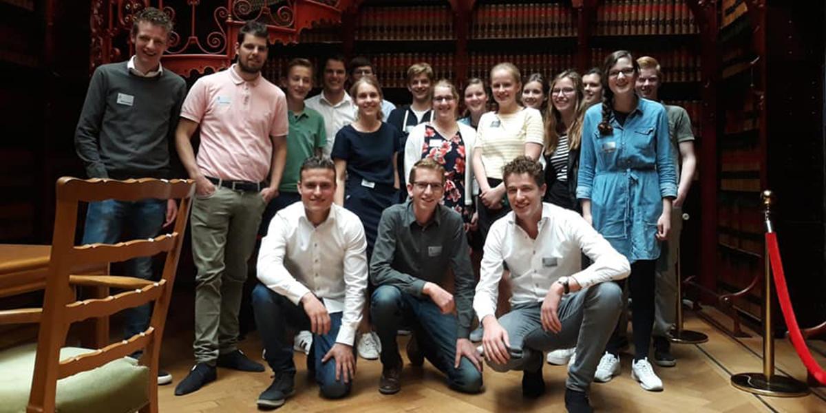 SGP-jongeren Goedereede in de Tweede Kamer
