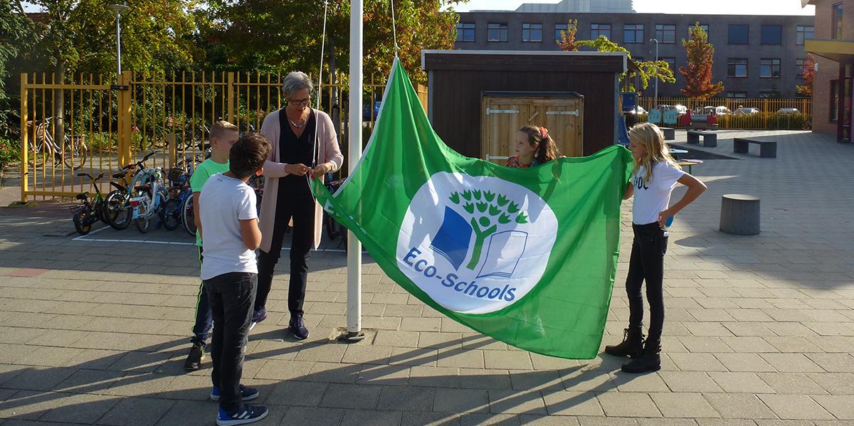 Bosseschool ontvangt zesde Groene Vlag