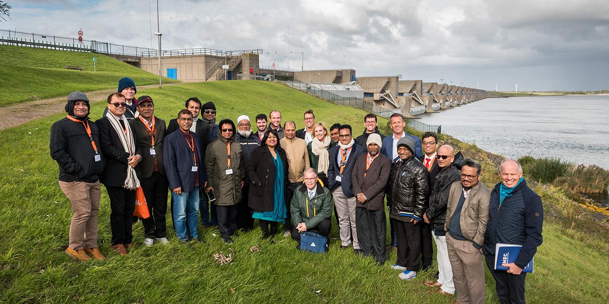 Delegatie uit Bangladesh bezoekt Goeree-Overflakkee