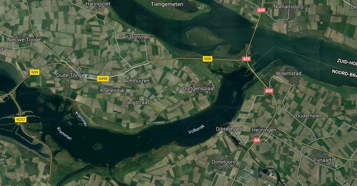 Provinciale fractie stelt vragen over Volkerak-Zoommeer
