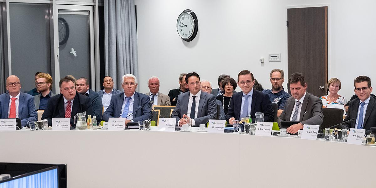 Eerste online gemeenteraadsvergadering Goeree-Overflakkee
