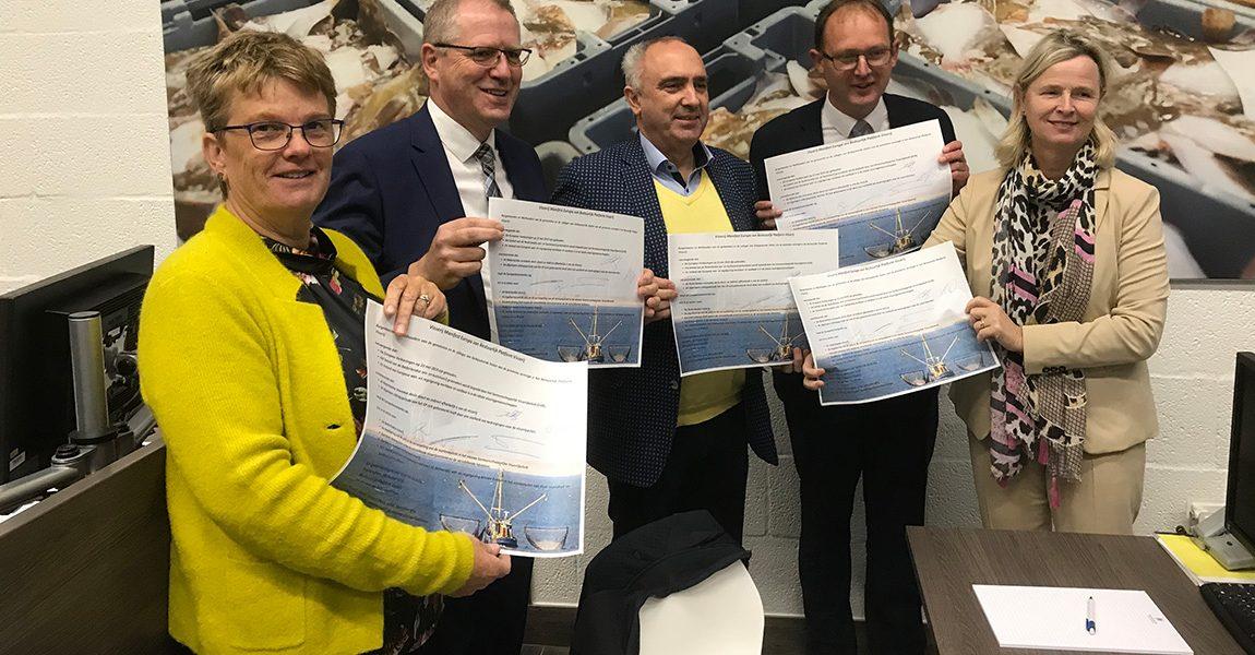 College ondertekent manifest ter ondersteuning van de visserij