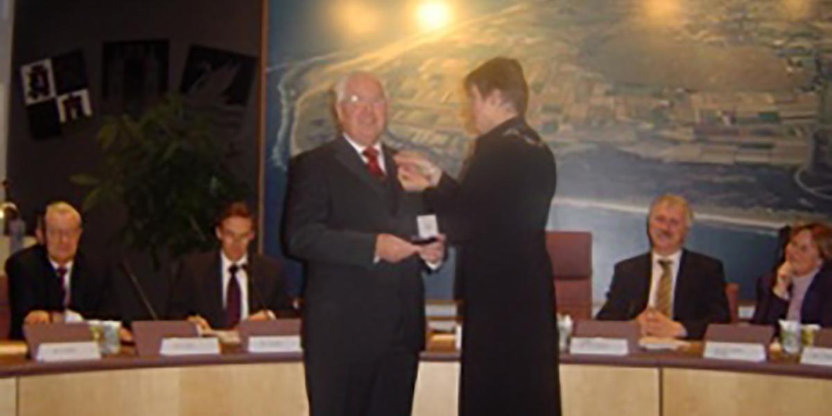 Afscheid fractievoorzitter B.L. Noorthoek