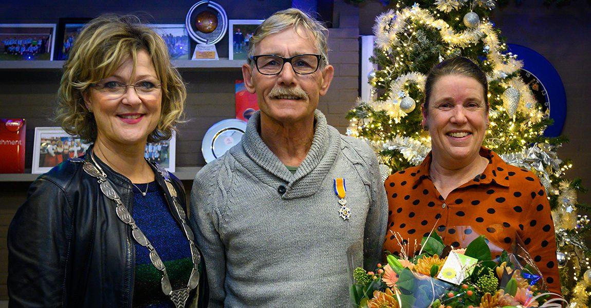 Daan van den Broek uit Dirksland Koninklijk onderscheiden