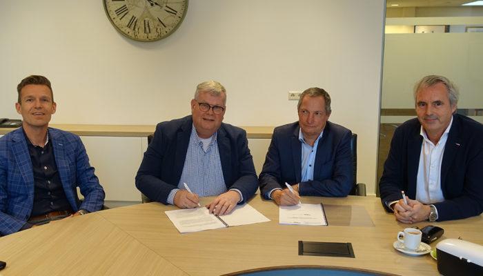 Ondertekening intentieovereenkomst herstructurering Spuiplein Middelharnis