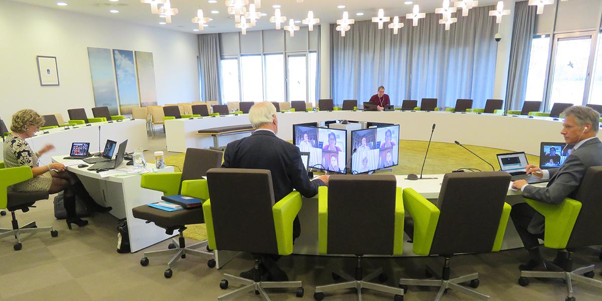 Eerste online raadsvergadering gemeente Goeree-Overflakkee