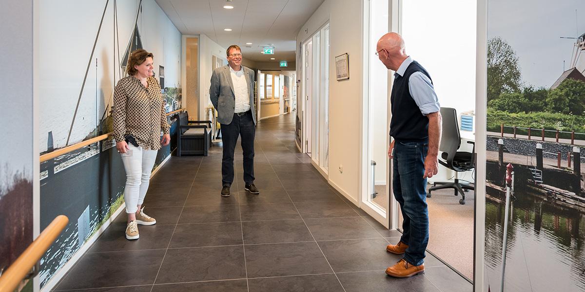 Wethouder Bruggeman bezoekt De Vliedberg