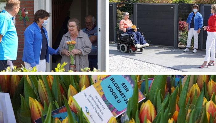 [Video] Gemeentelijke bloemengroet voor de thuiszorg