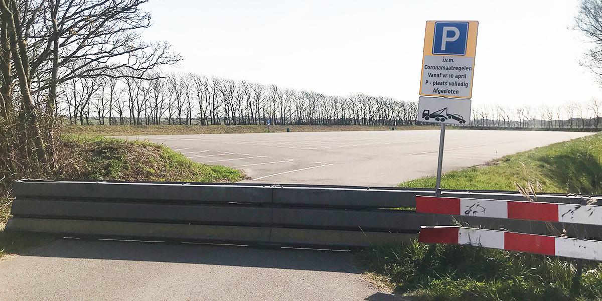 Grote parkeerplaatsen stranden Goeree-Overflakkee weer open