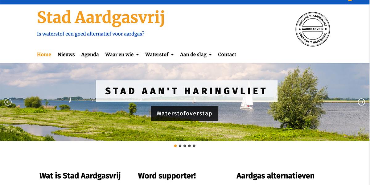 Stad aan 't Haringvliet wil meedoen met het Programma Aardgasvrije Wijken