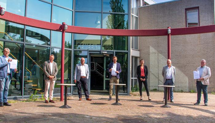 Nieuwe stap herontwikkeling locatie gemeentehuis voormalige gemeente Oostflakkee