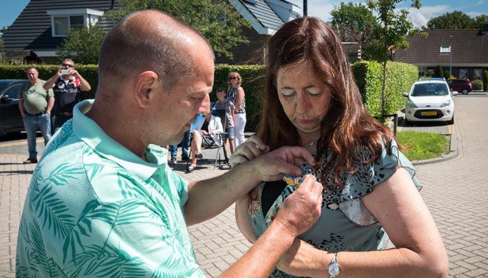 Koninklijke onderscheiding voor Carolien Struijk-Klepper uit Ouddorp