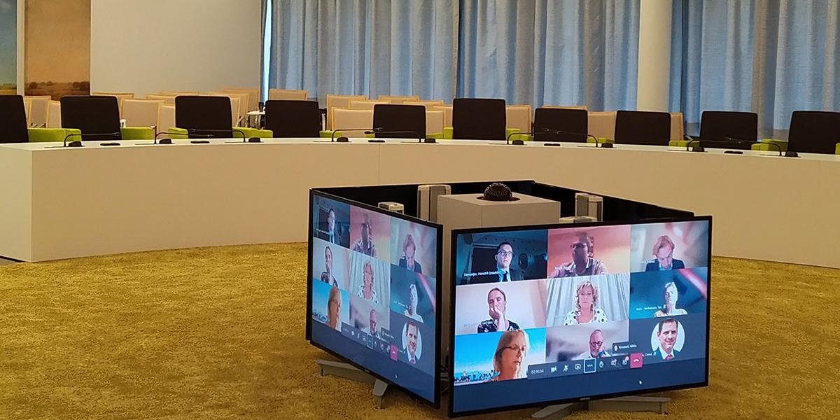 Digitale extra raadsvergadering 30 juni 2020