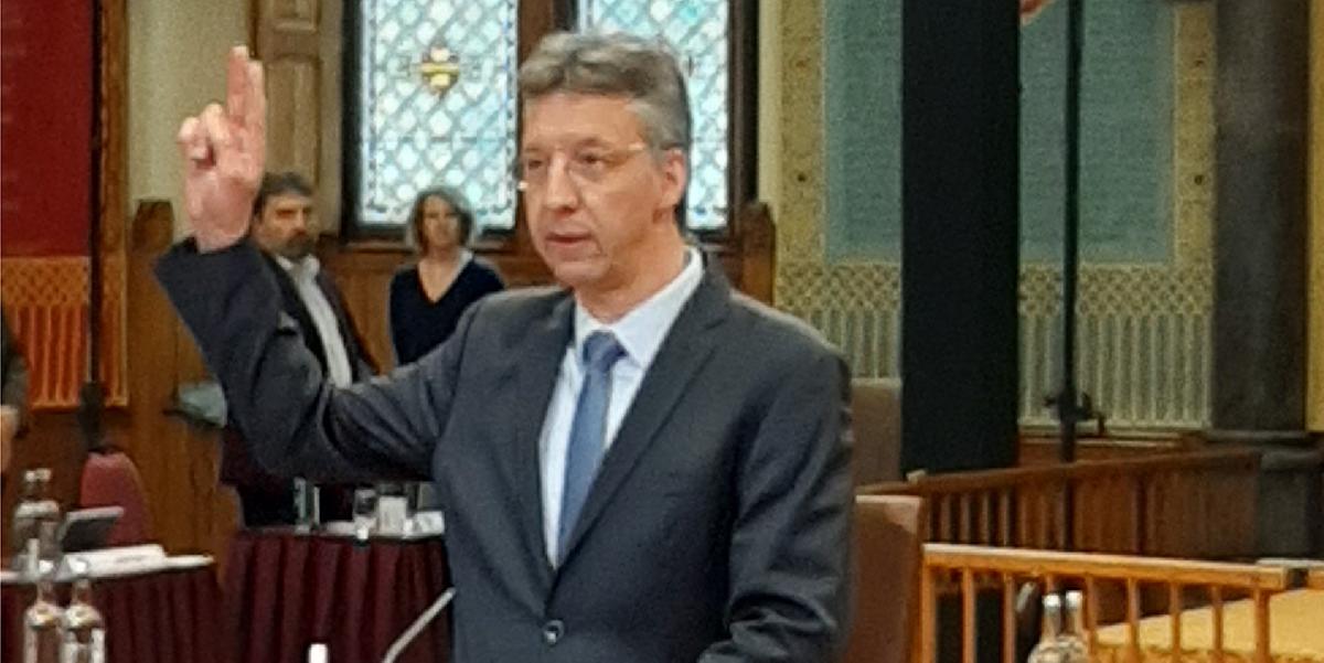 SGP-er Johan Matze provinciale fractievertegenwoordiger