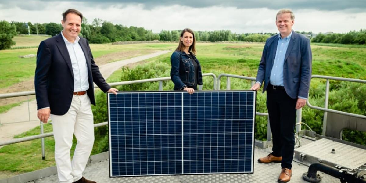 [Video] Aanleg vijf zonneparken gestart voor waterschap Hollandse Delta
