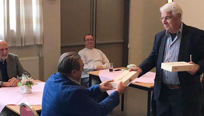 Raad op bezoek in herfstig Dirksland