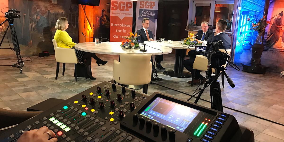 Live-uitzending met Kees van der Staaij trekt veel kijkers