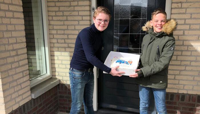 Taart van Bakkerij van Harberden bij campagneprijzen