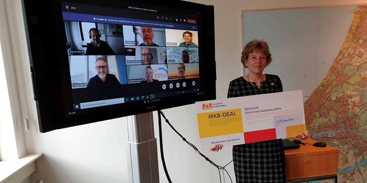 Gemeenten Zuid-Hollandse Delta slaan handen ineen om mkb te helpen met digitalisering