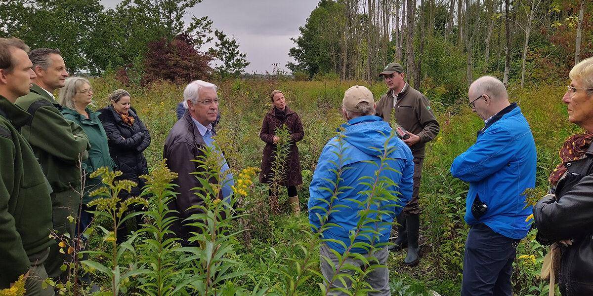 Gemeenteraad brengt bezoek aan De Vliegers en het Panksdijkje