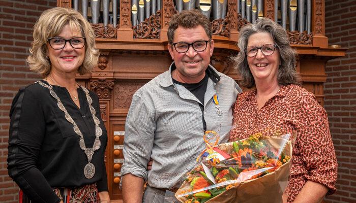 Koninklijke onderscheiding voor Thijs de Jong uit Ouddorp